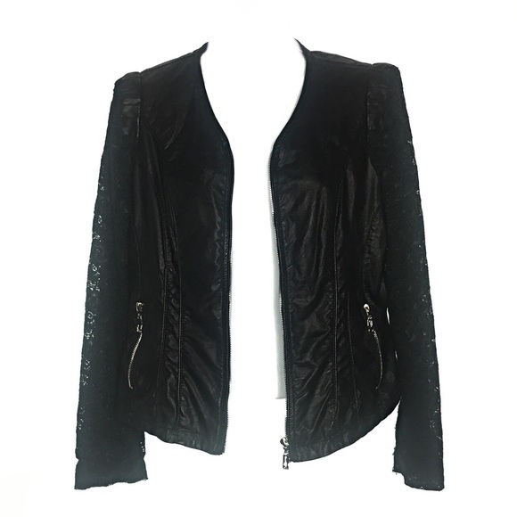 Downtown Coalition Jackets & Blazers - Downtown Coalition Faux Leather Jacket